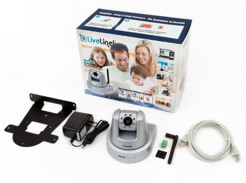 LiveLine indoor Wireless Baby pet Monitor  & WiFi IP Security Surveillance Cam