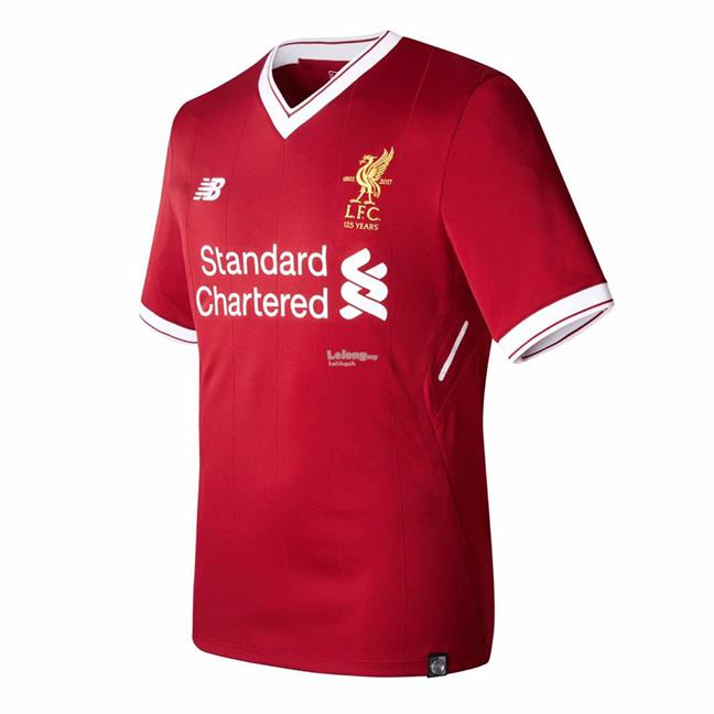 Liverpool Kit History 14: Liverpool FC 2017/2018 Season Home J (end 6/14/2017 2:15 PM