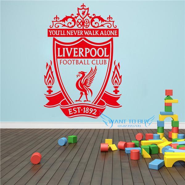 liverpool football club wall sticker (end 9/10/2020 2:15 pm)