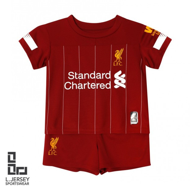premium selection c2976 071c2 Liverpool Kid Home Season 2019/20 Fans Jersey