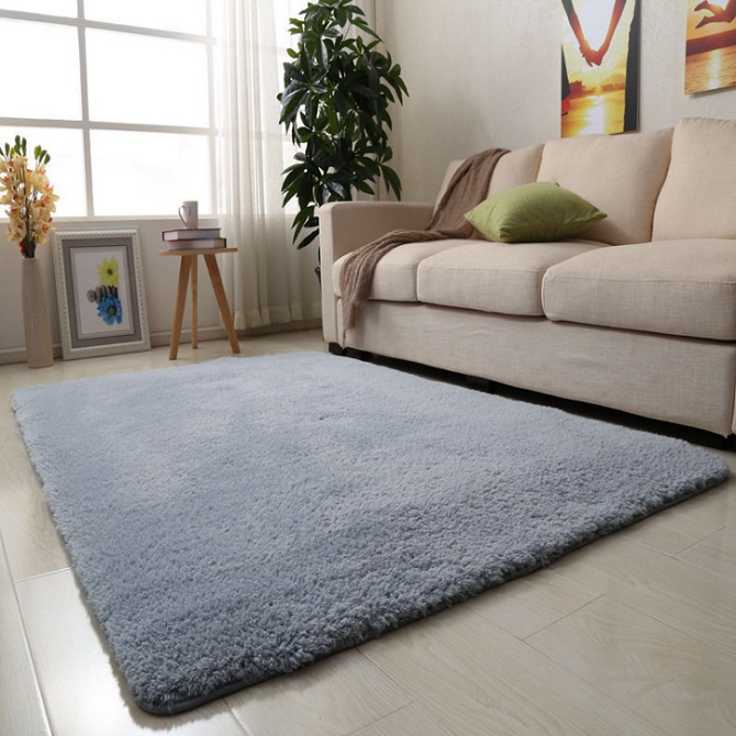 Living Room Carpet Modern Simple Bedroom