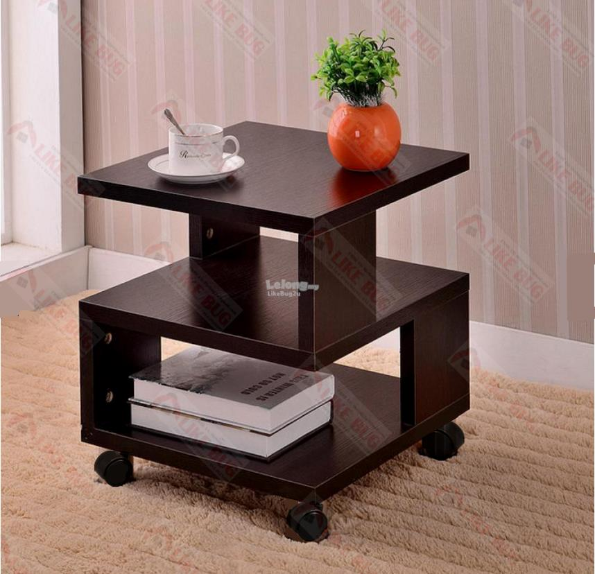 Living Room Simple Design Coffee Side Table With Wheels