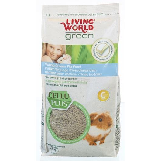 Living World Green - Guinea Pig Food - 1.4 kg