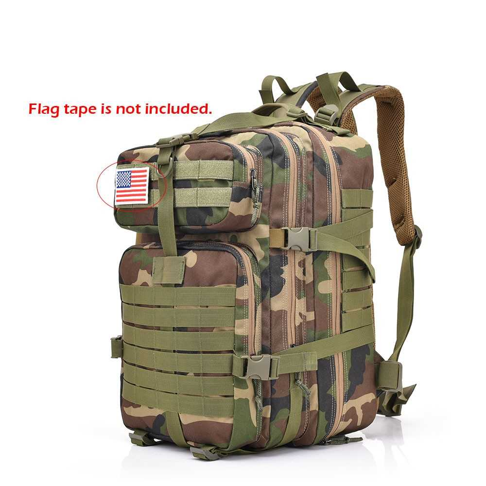 2c77c0172833 Lixada 30L Assault Pack Army Molle Bug Out Bag (camouflage 4)
