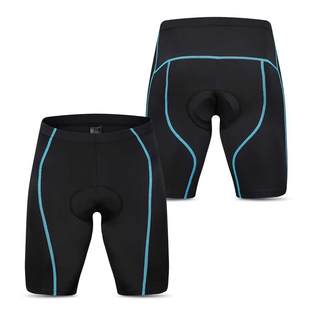 Lixada Men's Cycling Shorts Padded Bicycle Riding Half Pants Bike Biking Tight