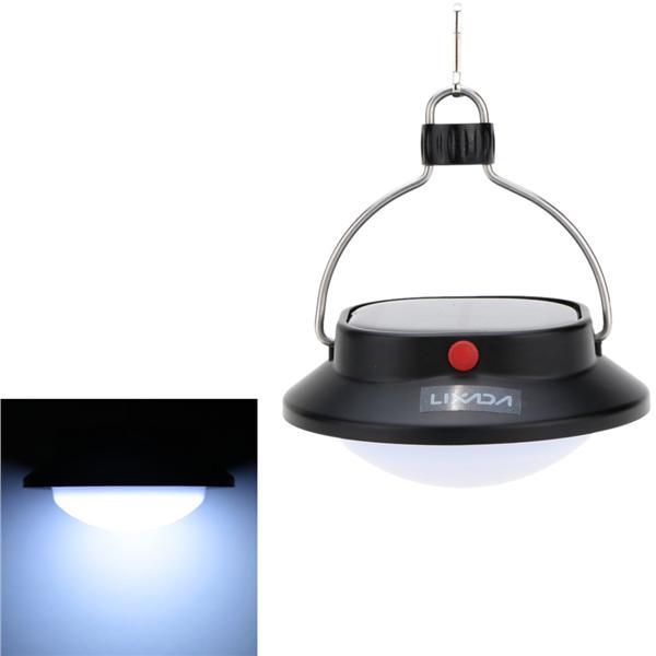 LIXADA Outdoor Solar Powered USB Charging LED Lamp