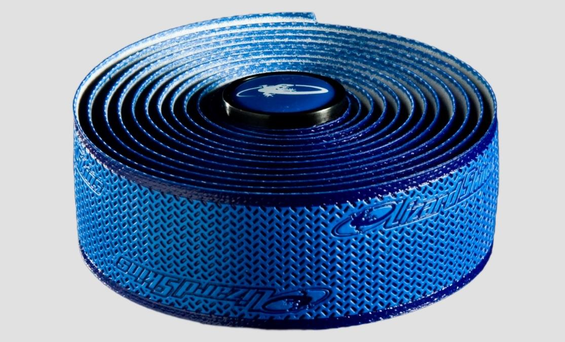 LIZARD SKINS DSP DURASOFT POLYMER BAR TAPE 2.5MM BLUE BICYCLE RB