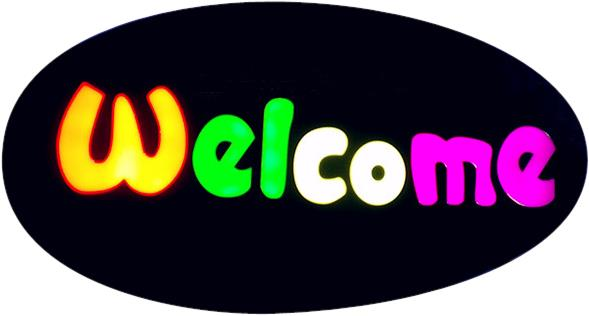 LK Sign Board - Welcome
