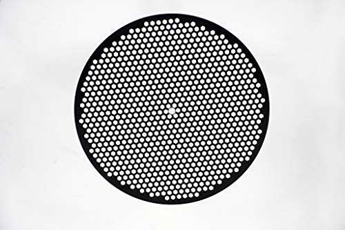 LloydPans 12 inch, Pre-Seasoned PSTK Hex Pizza Disk, Dark Gray/from USA