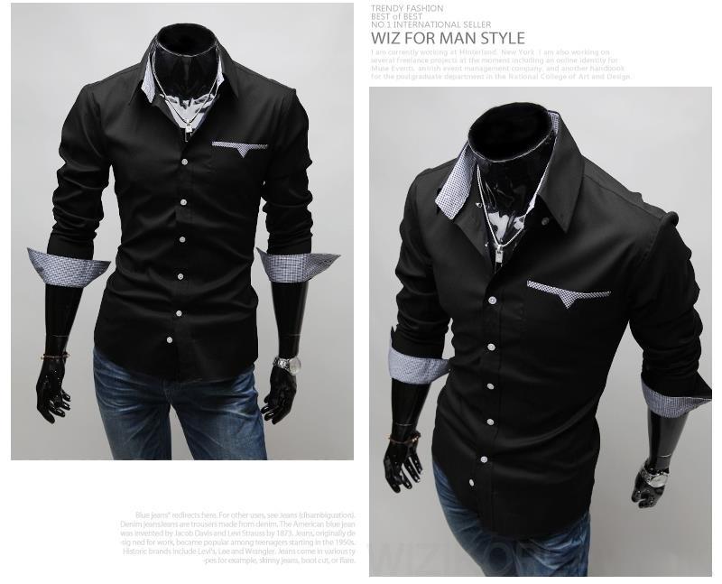 Llv49 Long Sleeve Colar Male Shirt M End 1 31 2020 2 23 Pm