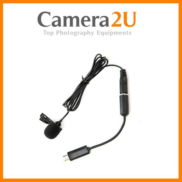BY-LM20 LAVALIER MICROPHONE for GoPro