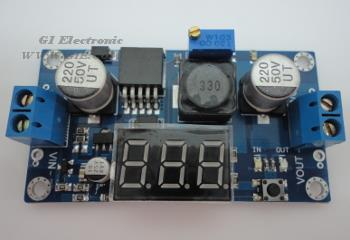 LM2596 Step Down with voltage display