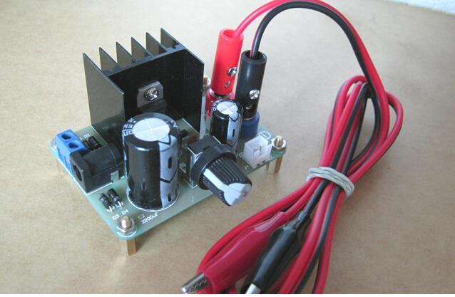 LM317 Adjustable Regulated DC Power Supply DIY Kit