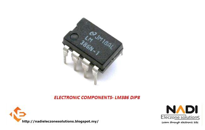 LM386 DIP-8 Audio Power AMPLIFIER IC Arduino PIC