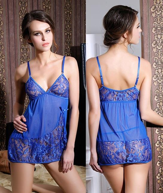 b0935dfa22 LM6640 Sexy Lingerie Lace Babydoll Nightwear Sleepwear + G-string. ‹ ›