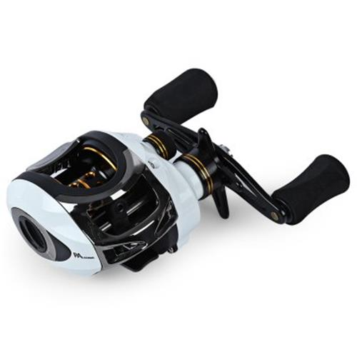 LMA200 11BB LEFT HAND BAITCASTING REEL RIVER OCEAN BOAT GEAR (CRYSTAL