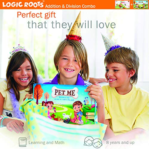 LogicRoots Addition, Multiplication and Division Math Games for Second, Third
