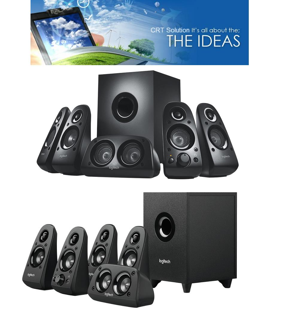 219af6f7ba4 Logitech 5.1 Surround Sound Speaker (end 7/27/2019 3:15 AM)