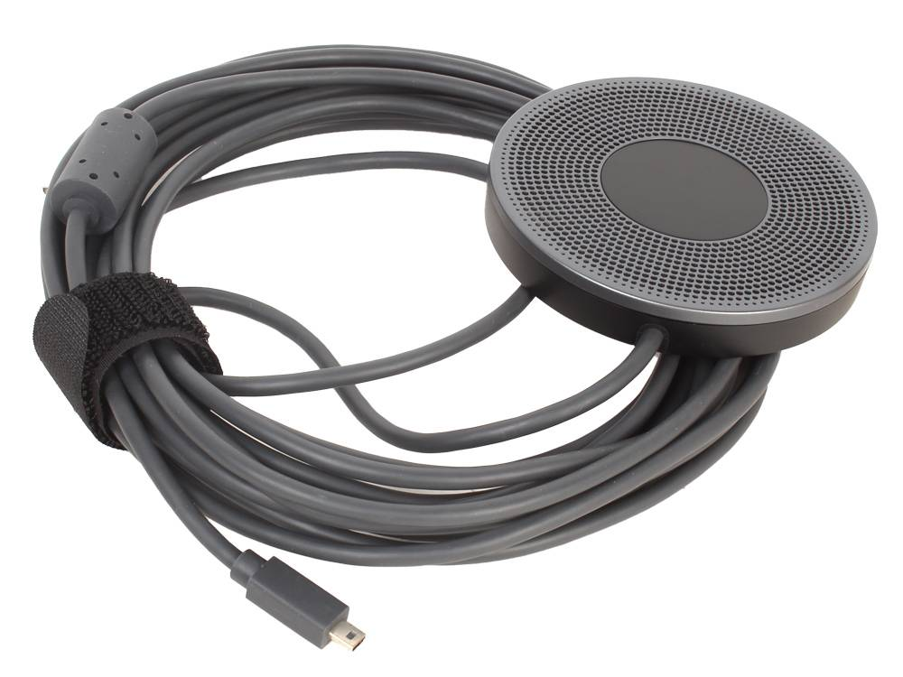 Logitech (989-000405) MEETUP Expansion Microphone 6 Meter