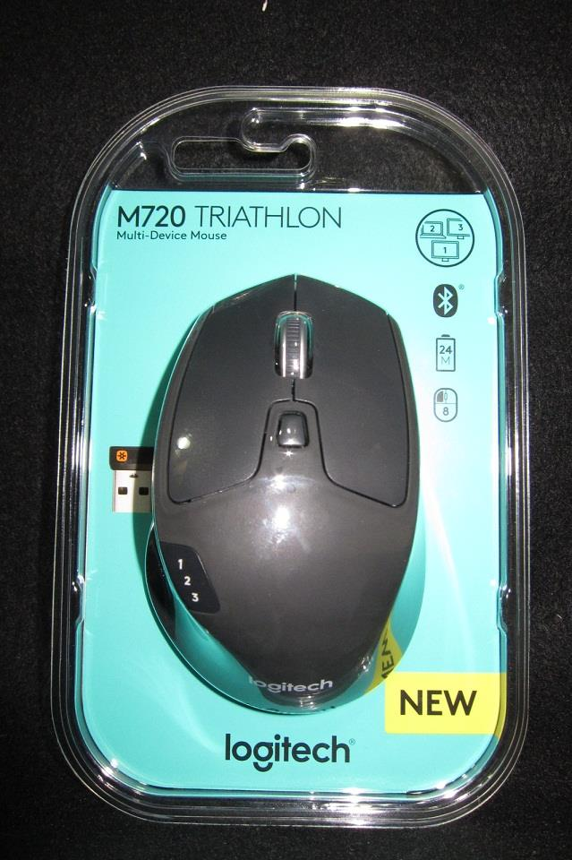 Logitech Bluetooth Mouse Triathlon M720