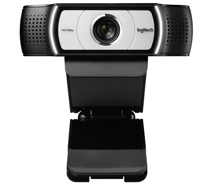 Logitech C930e Webcam - 30 fps, 1920 x 1080, 4x Digital Zoom, MIC