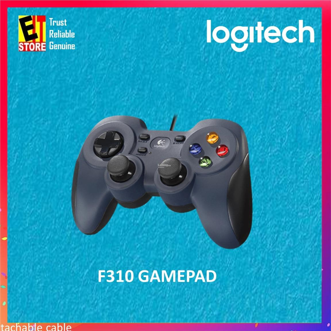 LOGITECH F310 WIRED USB GAMEPAD CONTROLLER