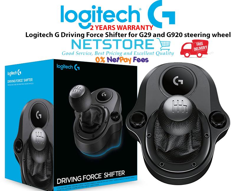 74b9403b052 Logitech G Driving Force Shifter for G29 and G920 steering wheel. ‹ ›