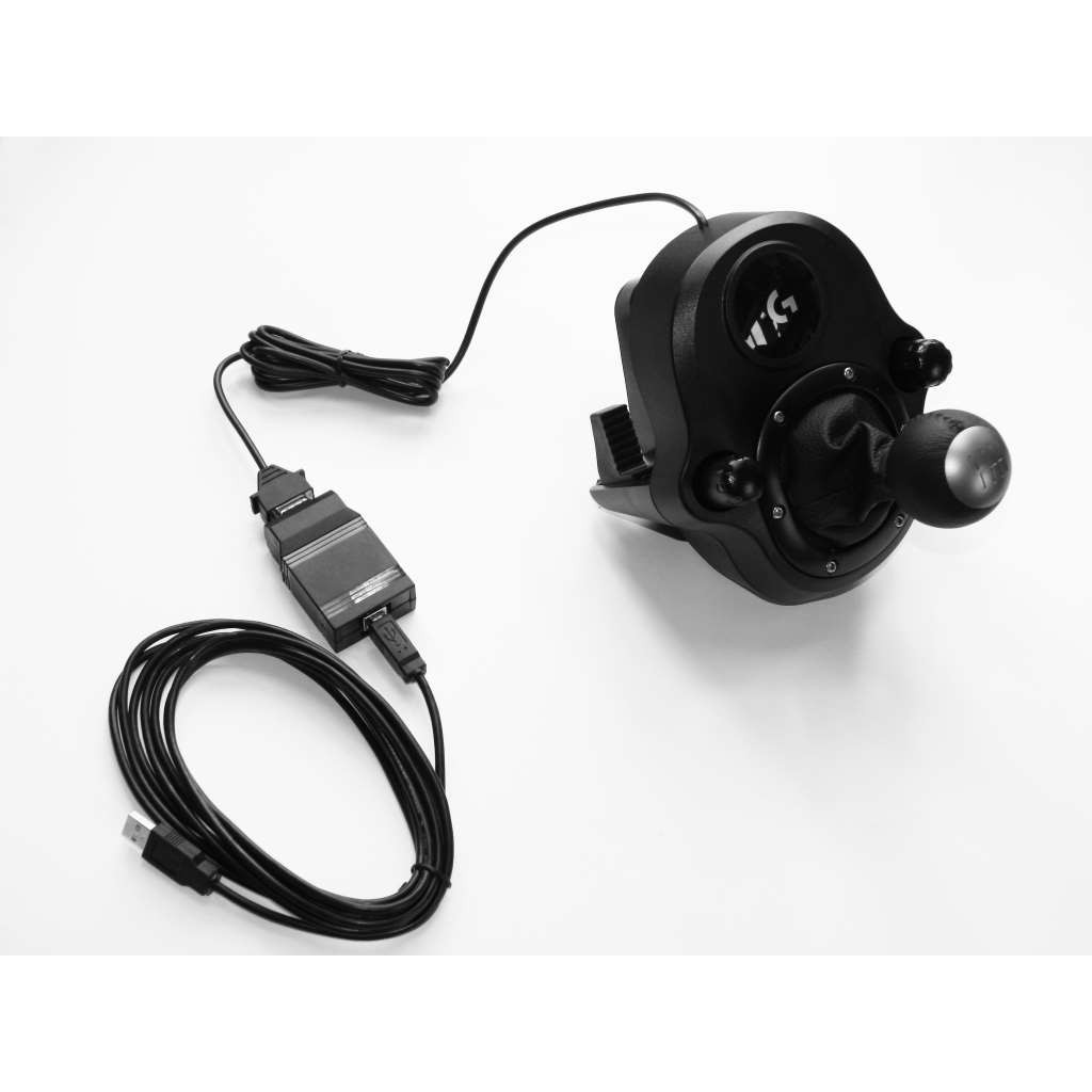Logitech G Driving Force Shifter for G29 and G920 steering wheel