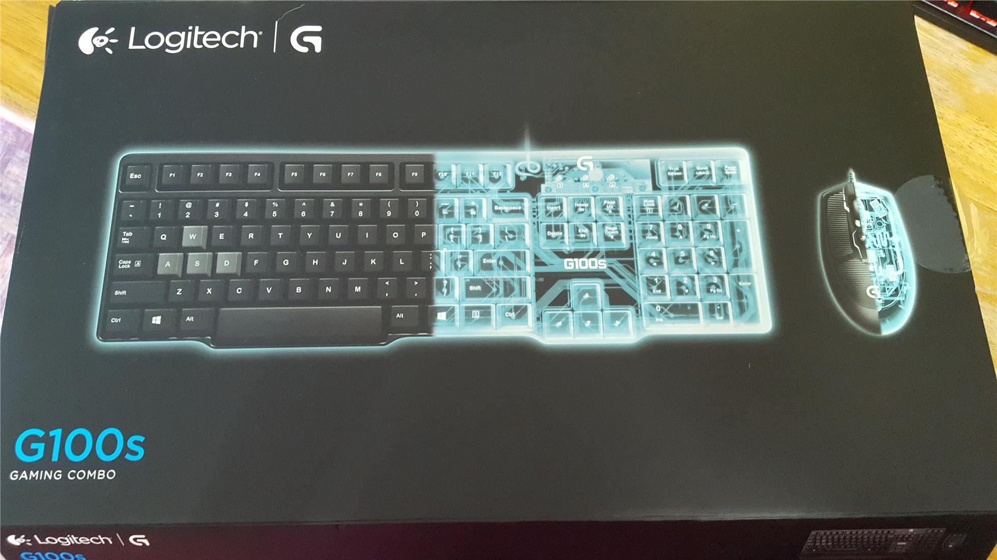 Logitech G100s Gaming Keyboard mouse combo