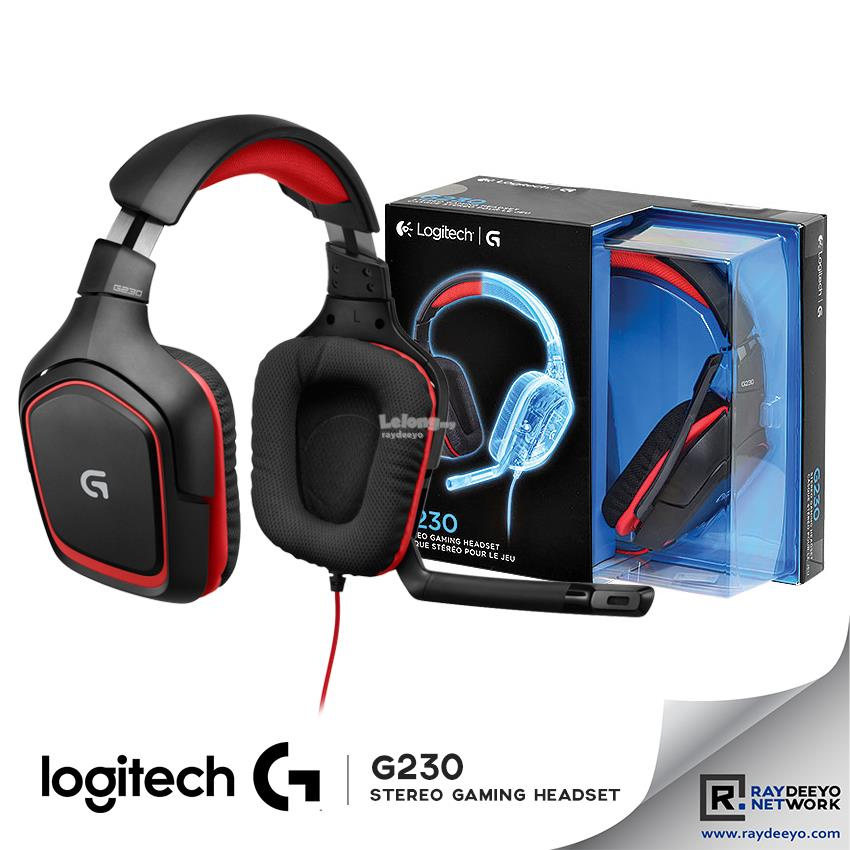 LOGITECH G230 Stereo Gaming Headset [GAME-QUALITY STEREO SOUND]