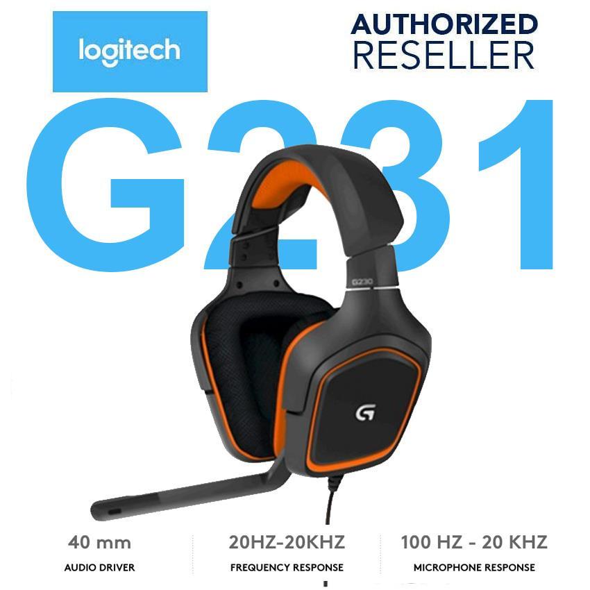 53a1c1efec2 Logitech G231 Prodigy Gaming Headset (end 3/14/2019 3:39 PM)