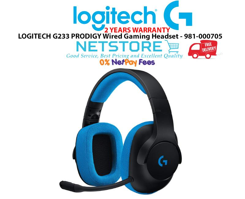 e487dfcaef5 LOGITECH G233 PRODIGY Wired Gaming Headset - 981-000705. ‹ ›