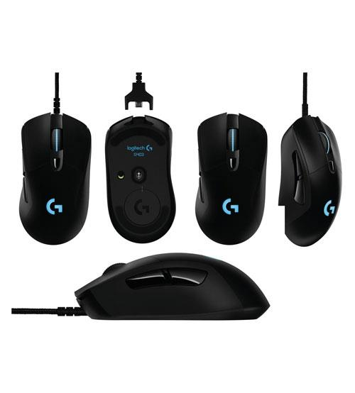 Logitech G403 Prodigy RGB Gaming USB Wired Mouse 12K DPI