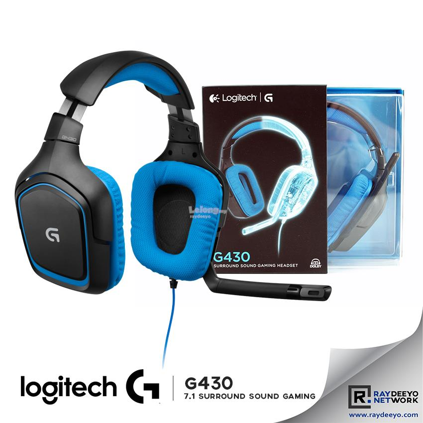 LOGITECH G430 7 1 Dolby Surround Sound Gaming Headset [PC/PS4/XBOX]