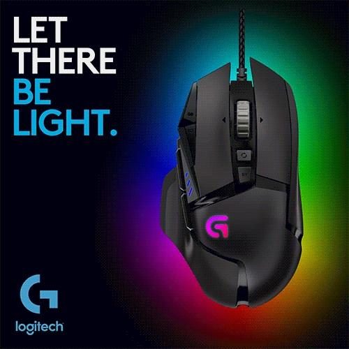 LOGITECH G502 PROTEUS SPECTRUM RGB WIRED GAMING MOUSE