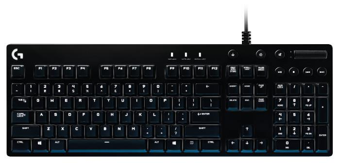 LOGITECH G610 Orion Cherry MX Blue Backlit Mechanical Gaming Keyboard