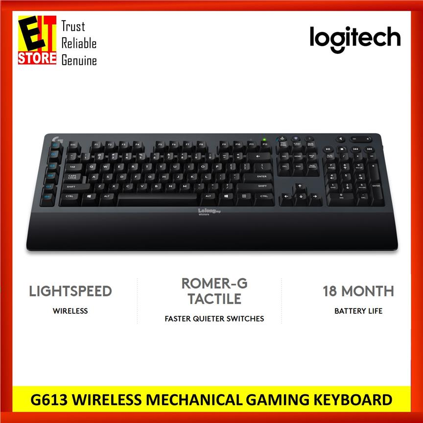 LOGITECH G613 WIRELESS MECHANICAL GA (end 4/24/2020 6:02 PM)