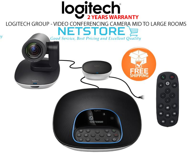 LOGITECH GROUP - VIDEO CONFERENCING CAMERA MID TO LARGE ROOMS