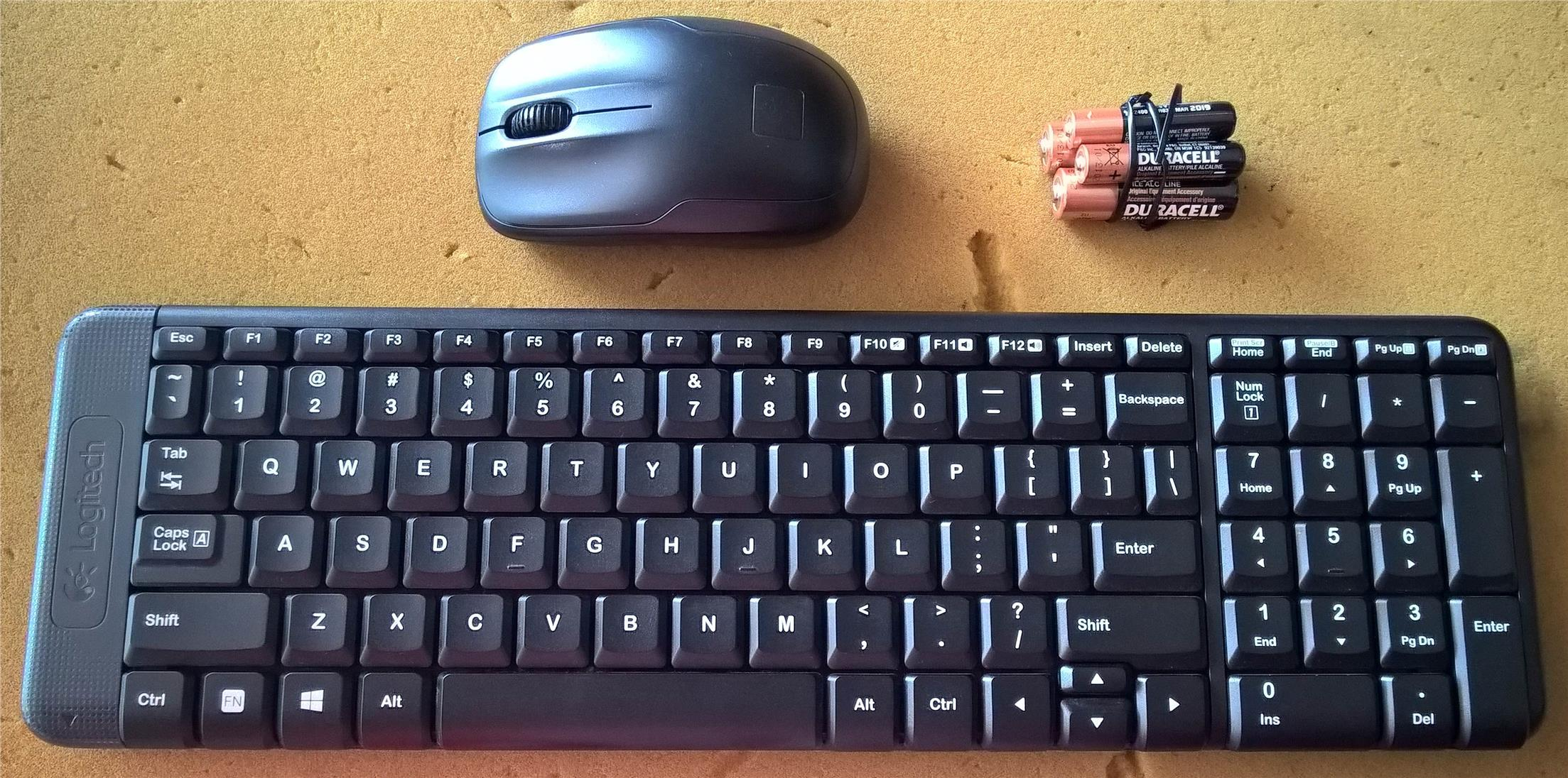 how to connect logitech wireless keyboard and mouse