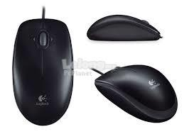 Logitech M100R Optical Wired USB Mouse