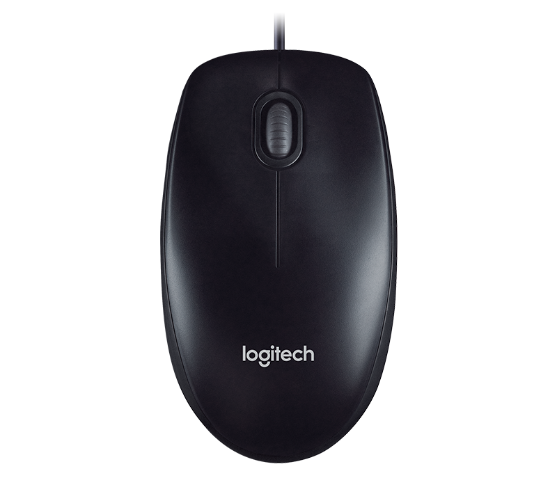 Logitech M100R Wired Optical USB Mouse