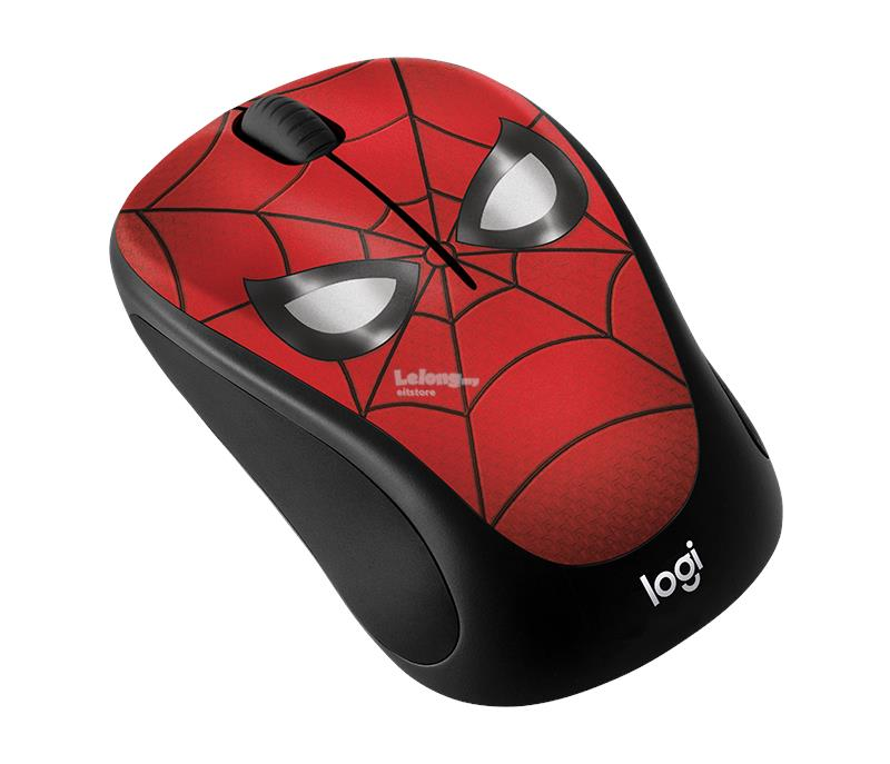 LOGITECH M238 MARVEL COLLECTION WIRELESS MOUSE (SPIDERMAN)