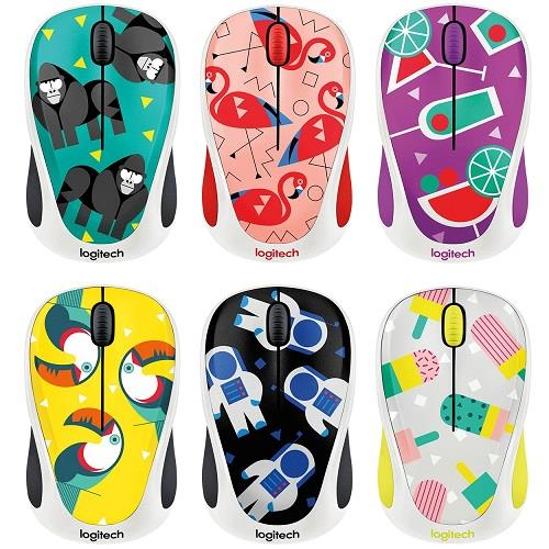 Logitech Wireless Mouse Party Collection M238 Cocktail - Daftar Harga Barang Indonesia