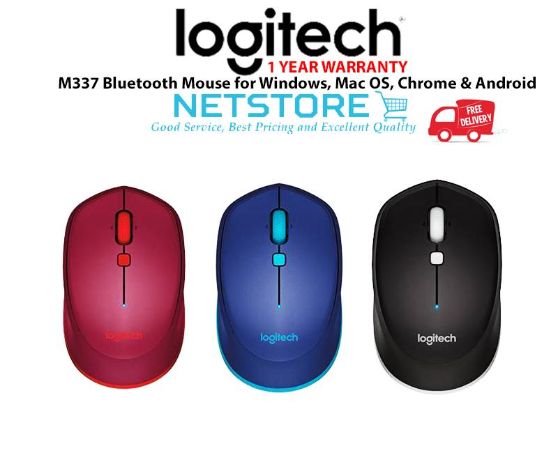 a149658ec22 Logitech M337 Bluetooth® Mouse – Bl (end 2/21/2020 10:15 AM)