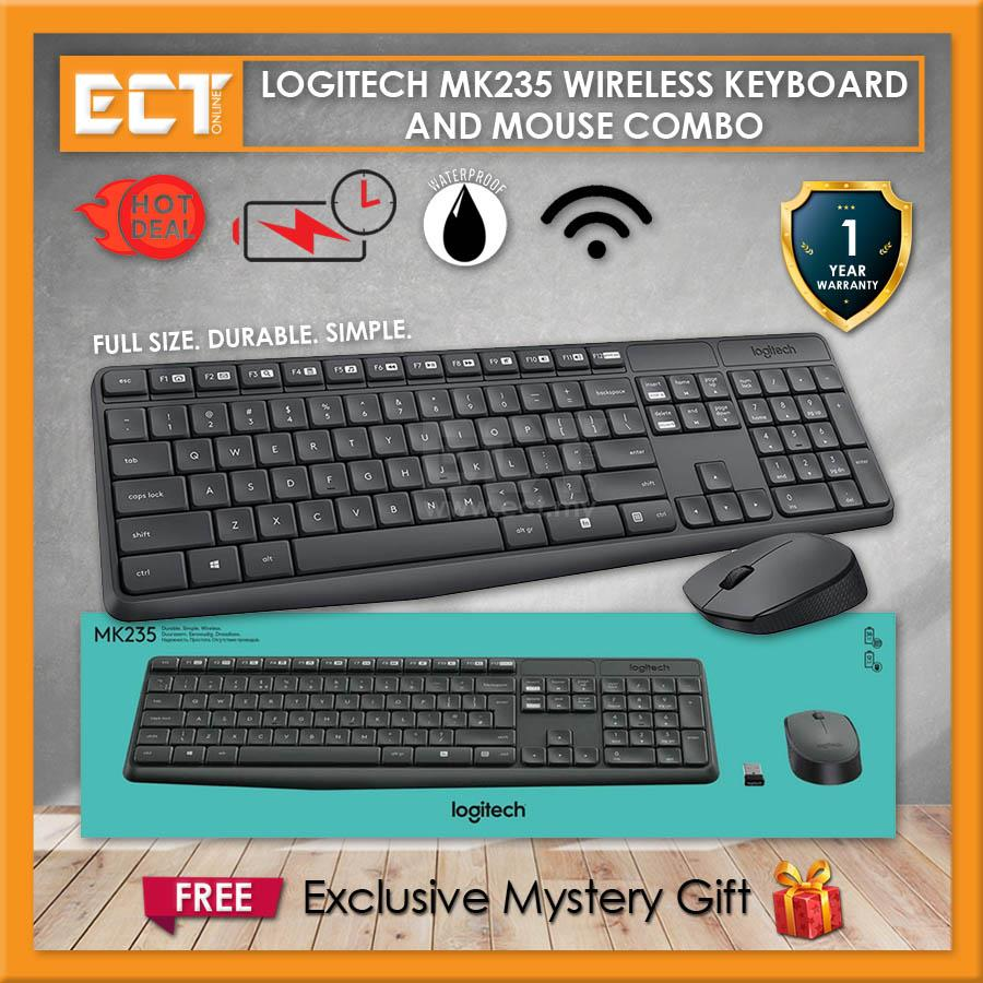 02334948b28 Logitech MK235 Wireless Keyboard and (end 4/9/2021 12:00 AM)