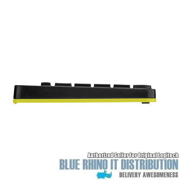 3bbeff1a6a1 Logitech MK240 Nano Wireless Combo (Black with Chartreuse Yellow)