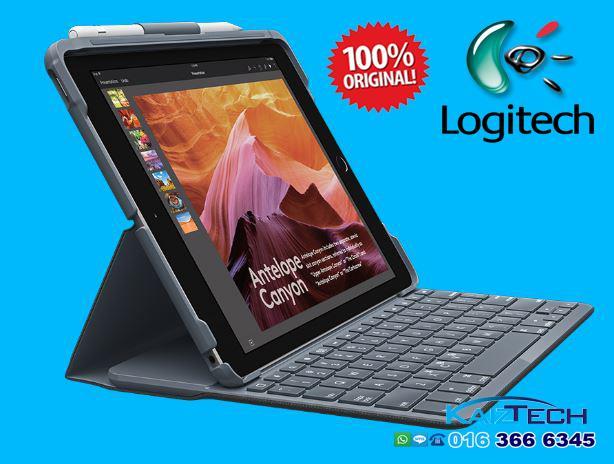 superior quality 51d4b 1302e Logitech Slim Folio Case with Integrated Bluetooth Keyboard iPad 9.7'