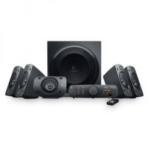 Logitech Speaker System Z906 - THX-Certified 5.1 System, 500W (RMS) Th