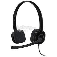LOGITECH STEREO H151 MULTI DEVICE HEADPHONES WITH IN LINE CONTROLS