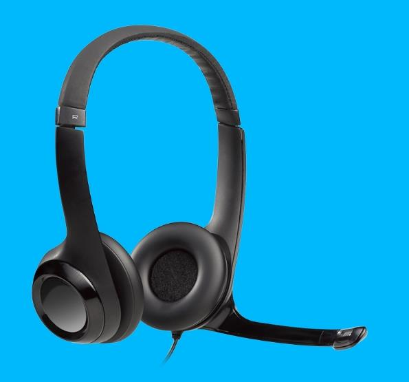 LOGITECH WIRED USB HEADSET H390 (981-000485)
